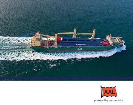 AAL物流货运公司宣传册